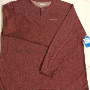 Men's Columbia Long Sleeved Shirt